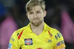 Ipl 2019 David Willey To Miss Chennai Super Kings Due To Family Reasons