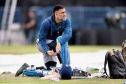India Vs Australia Ms Dhoni Injures Forearm On The Eve 1st Odi