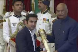 See Pics Awardees Gautam Gambhir Isro Scientist Receive Padma Awards