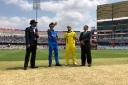 India Vs Australia 1st Odi Live Cricket Score Aaron Finch Opts To Bat Against India In Hyderabad