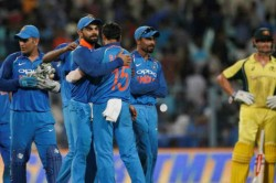 India Vs Australia 5th Odi Team India Win Record A Bilateral Series Final Match