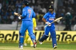 India Vs Australia Ms Dhoni Kedar Jadhav Join Elite List After Match Winning Stand In Hyderbad