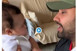 Watch Cricketer Rohit Sharma Entertains Daughter Rapping Gully Boy Song