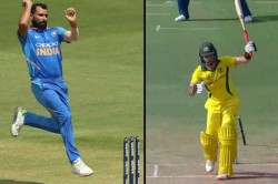 Watch Shami Sizzler Pacer Clean Bowls Maxwell With Peach