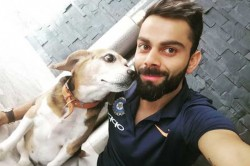 Touchdown Delhi Virat Kohli Posts Adorable Picture After Reaching Delhi For 5th Odi