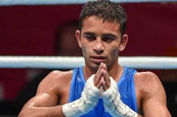 Asian Boxing Championships Amit Panghal Wins Gold In Mens 52 Kg Category