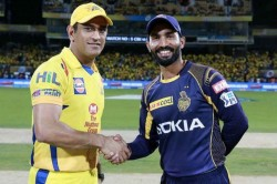 Ipl 2019 Csk Vs Kkr Live Score Ms Dhoni Wins The Toss And Elects To Bowl First Against To Kkr