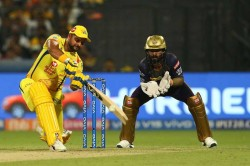 Csk Vs Kkr Suresh Raina Gets Fifty Chennai Won By 5 Wkts