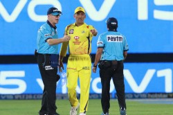 Ms Dhoni Fined After Fierce On Field Argument With Umpires