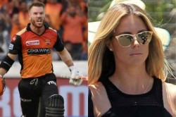 Ipl 2019 David Warner S Wife Is Proud Of Her Husband After His Masterclass Against Rcb