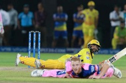 Ipl Flying Ravindra Jadeja Hits Craziest Six In Rr Vs Csk