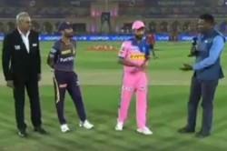 Rajasthan Vs Kolkata Kolkata Opt To Bowl