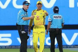 Ms Dhoni Is Human Sourav Ganguly Comes To Csk Skipper S Defence In No Ball Controversy