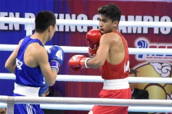 Asian Boxing Championships Nikhat Zareen Reach Quarter Finals