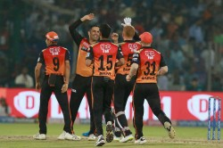 Ipl Delhi Capitals Post A Target Of 130 Runs Against Sunrisers Hyderabad