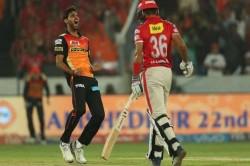 Ipl Match Stats Sunrisers Hyderabad Vs Kings Xi Punjab At The Rajiv Gandhi International Stadium