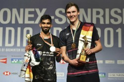 India Open Final Highlights Kidambi Srikanth Goes Down Fighting To Viktor Axelsen In Final