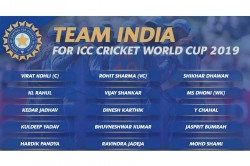 India Squad For World Cup 2019 Players Profile Recent Performances And More
