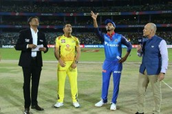 Ipl 2019 Qualifier 2 Csk Vs Dc Chennai Super Kings Win The Toss And Elect To Field