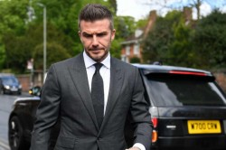 David Beckham Gets 6 Month Ban For Using Phone While Driving