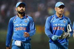 Cwc 2019 Ms Dhoni Is Captain On The Ground For Virat Kohli