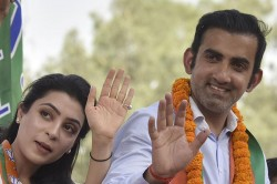 East Delhi Elections Results Ex Indian Cricketer Gautam Gambhir Wins In His Electoral Debut