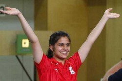 Manu Bhaker Wins Air Pistol Olympic Quota
