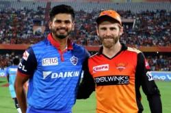 Ipl 2019 Eliminator Dc Vs Srh Delhi Capitals Win The Toss And Elect To Field