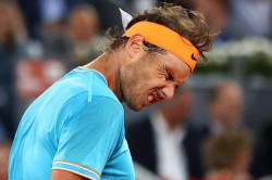 Rafael Nadal Beaten By Stefanos Tsitsipas In Madrid Open Semi Final