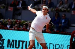 Roger Federer Saves Two Match Points To Beat Gael Monfils In Madrid Open Epic