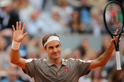 French Open French Open 2019 Roger Federer Into Second Round With Straight Set Win