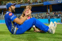 Ipl 2019 My Daughter Was Sleeping When I Hit My Fifty Rohit Sharma