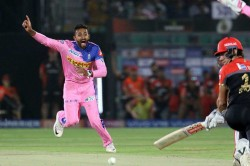 Watch Shreyas Gopal Bags Maiden Hat Trick In Ipl Becomes 2nd Bowler To Achieve Feat This Season
