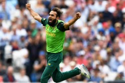 Cricket World Cup 2019 Imran Tahir Became First Spinner To Bowl The First Over