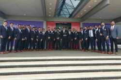 Icc Cricket World Cup 2019 Team India Arrive In London For Much