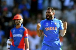 Icc Cricket World Cup 2019 India Vs Afghanistan Mohammed Shami