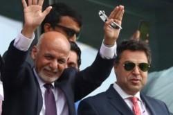 Cwc 19 England Vs Afghanistan Afghanistan President Ashraf Ghani Cheers On As Afghanistan