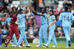 Cwc 2019 England Vs West Indies Live Score Archer Wood Star As Windies