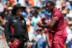 Icc World Cup 2019 Brathwaite Fined For Breaching Icc Code Of Conduct Against India