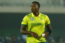 Icc Cricket World Cup 2019 Pace Bowler Lungi Ngidi Out Of India