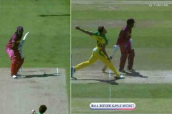 Cwc 2019 The Ball Before Gayle Got Out Is A No Ball
