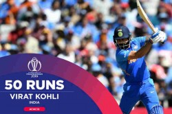 Virat Kohli Smashes Another Half Century India 4 Down