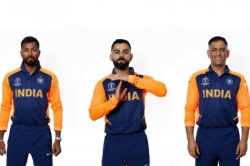 Ms Dhoni Virat Kohli S First Look In India S Away Jersey See Pictures