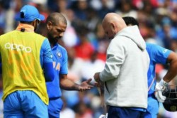 Standing In The Slip Will Be An Issue For Shikhar Dhawan Says India