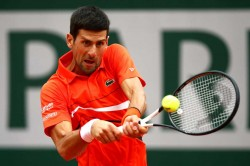 French Open 2019 Novak Djokovic Beats Jan Lennard Struff To Move Into Quarter Finals