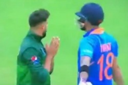 Watch Imad Wasim Requests Virat Kohli To Get Out During India