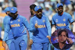 Icc Cricket World Cup 2019 India You Have To Help Us Qualify For Semis Says Shoaib Akhtar