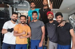 Icc Cricket World Cup 2019 Virat Kohli And Co Sweat At Gyma Head Of Indias World Cup
