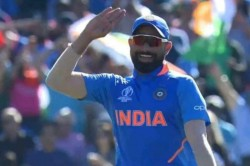 Mohammed Shami Mimics Sheldon Cottrell S Salute Celebration