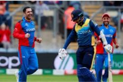 Icc World Cup 2019 Afghanistan Vs Sri Lanka Nabi Gets